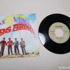 Discos de vinilo: LOS BRINCOS SOL EN JULIO/ANANAI 7 SINGLE 1968 NOVOLA. Lote 197660928