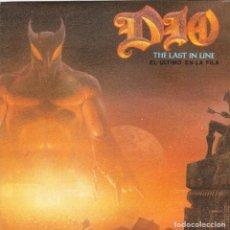 Discos de vinilo: DIO - EL ULTIMO DE LA FILA + RECORDED LIVE AT CASTLE DONNINGTON 1983 SINGLE SPAIN 1984. Lote 197662270