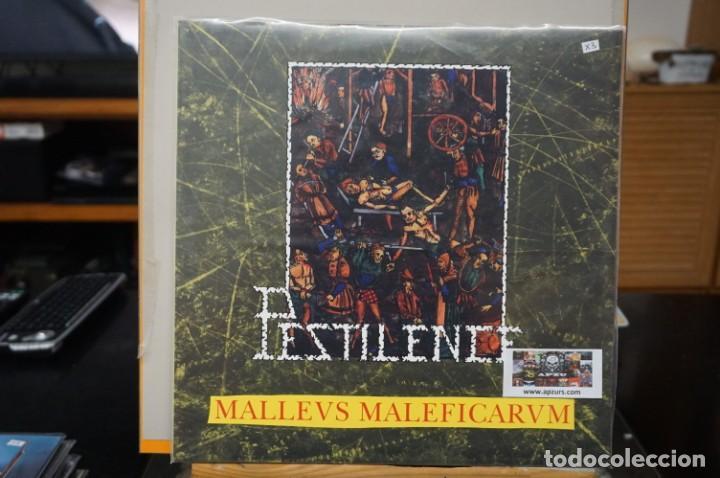 (LP-NUEVO PRECINTADO) / PESTILENCE – MALLEUS MALLEFICARUM - HAMMERHEART RECORDS – HHR2017-13 (Música - Discos - LP Vinilo - Heavy - Metal)