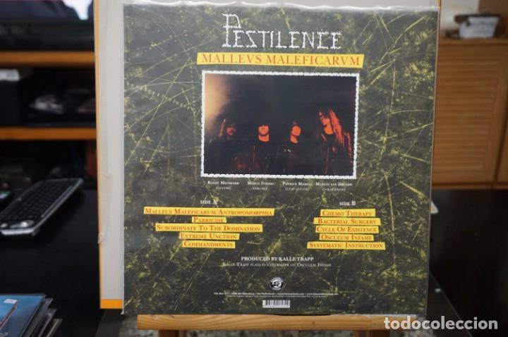 Discos de vinilo: (LP-NUEVO PRECINTADO) / Pestilence – Malleus Malleficarum - Hammerheart Records – HHR2017-13 - Foto 2 - 197664965