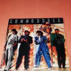 Discos de vinilo: COMMODORES. UNITED. POLYDOR RECORDS 1986. Lote 197670163