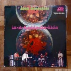 Discos de vinilo: IRON BUTTERFLY. IN-A-GADDA-DA-VIDA. ATLANTIC HAT (S) 421-35. ESPAÑA 1969.. Lote 197671800