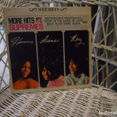 Dischi in vinile: THE SUPREMES – MORE HITS BY THE SUPREMES.LP ORIGINAL USA 1967.MOTOWN – S-627. Lote 197672458