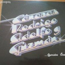 Discos de vinilo: CANOVAS ROGRIGO Y GUZMAN QUERIDOS COMPAÑEROS LP INSERTO 1984. Lote 197727508