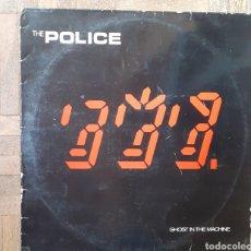 Discos de vinilo: THE POLICE. GHOST IN THE MACHINE. AM RECORDS AMLK 63730. 1981. FUNDA VG+. DISCO VG+.. Lote 197741011