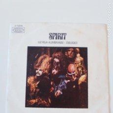Discos de vinilo: SPIRIT LUZ ROJA ALUMBRANDO / ZOOLOGICO ( 1970 EPIC ESPAÑA ) RANDY CALIFORNIA. Lote 197742863