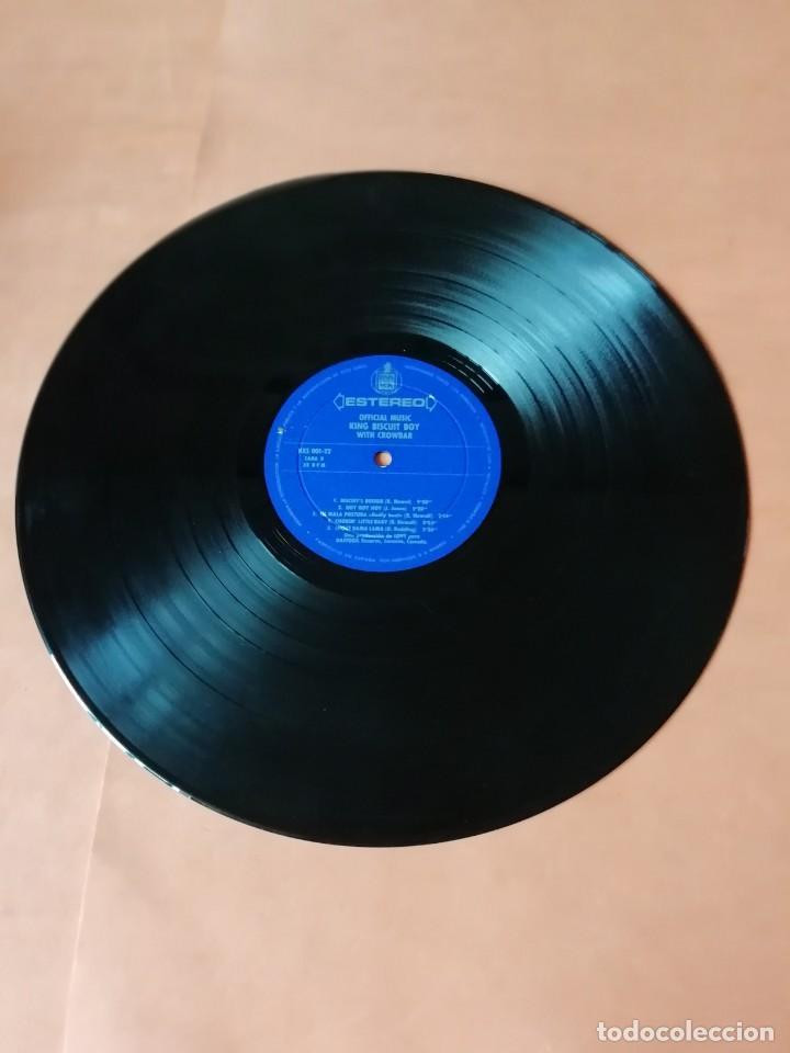 Discos de vinilo: OFFICIAL MUSIC KING BISCUIT BOY . WITH CROWBAR. HISPAVOX RECORDS 1971. - Foto 8 - 197749447