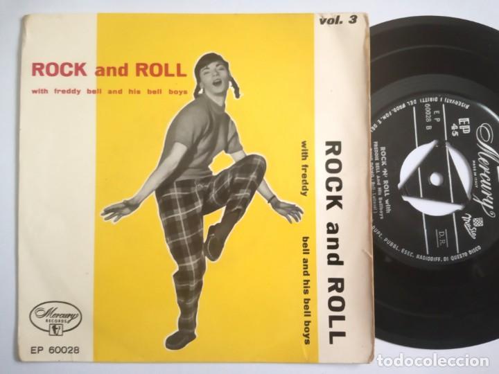 FREDDY BELL & HIS BELL BOYS - ROCK AND ROLL - EP ITALIANO - MERCURY (Música - Discos de Vinilo - EPs - Rock & Roll)