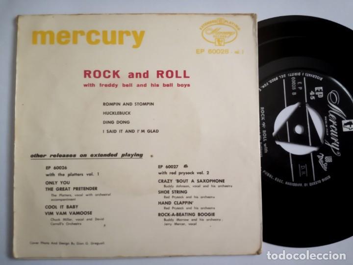Discos de vinilo: FREDDY BELL & HIS BELL BOYS - rock and roll - EP ITALIANO - MERCURY - Foto 2 - 197757028