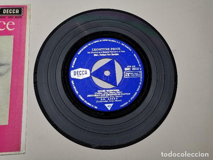 Discos de vinilo: LEONTYNE PRICE - NAVIDAD CON - KARAJAN - EP DECCA 1963 - Foto 5 - 197759357