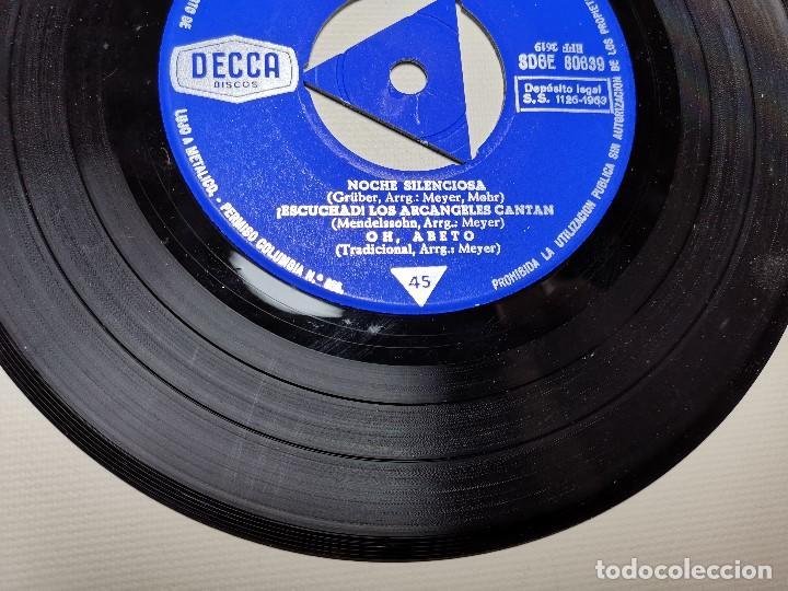 Discos de vinilo: LEONTYNE PRICE - NAVIDAD CON - KARAJAN - EP DECCA 1963 - Foto 6 - 197759357