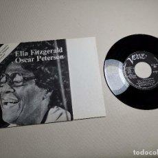 Discos de vinilo: ELLA FITZGERALD / OSCAR PETERSON - PALACIO DE LOS DEPORTES DE BARCELONA 1973 VERVE PROMO. Lote 197759827