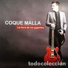 Discos de vinilo: COQUE MALLA – LA HORA DE LOS GIGANTES + SINGLE EXCLUSIVO - TRILOBITE RECORDS 2009 - NUEVO. Lote 197760157