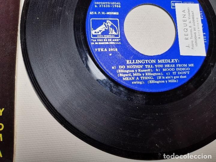 Discos de vinilo: Ella Fitzgerald – Ellington Medley / Old Macdonald Ha A Farm / The Boy From Ipanema - EP 1966 - Foto 6 - 197760421