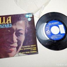 Discos de vinilo: ELLA FITZGERALD – ELLINGTON MEDLEY / OLD MACDONALD HA A FARM / THE BOY FROM IPANEMA - EP 1966. Lote 197760421
