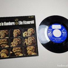 Discos de vinilo: ELLA FITZGERALD IN HAMBURG EP LA VOZ DE SU AMO AÑO 1965 EDITADO EN ESPAÑA. Lote 197760903