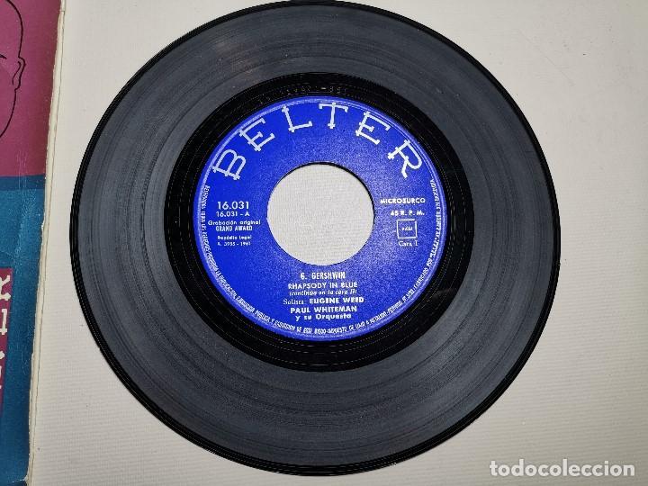 Discos de vinilo: PAUL WHITEMAN RHAPSODY IN BLUE -BELTER 16031 ---1961 - Foto 3 - 197761518