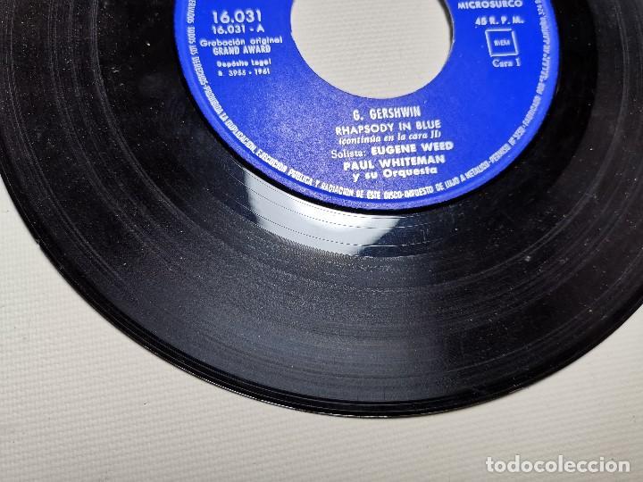 Discos de vinilo: PAUL WHITEMAN RHAPSODY IN BLUE -BELTER 16031 ---1961 - Foto 4 - 197761518
