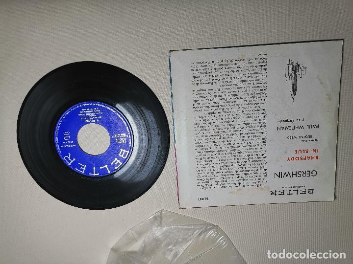 Discos de vinilo: PAUL WHITEMAN RHAPSODY IN BLUE -BELTER 16031 ---1961 - Foto 5 - 197761518