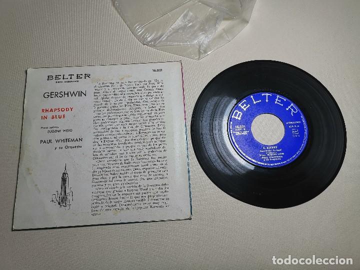Discos de vinilo: PAUL WHITEMAN RHAPSODY IN BLUE -BELTER 16031 ---1961 - Foto 6 - 197761518