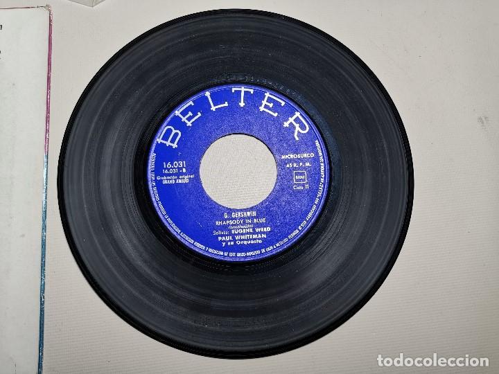 Discos de vinilo: PAUL WHITEMAN RHAPSODY IN BLUE -BELTER 16031 ---1961 - Foto 7 - 197761518