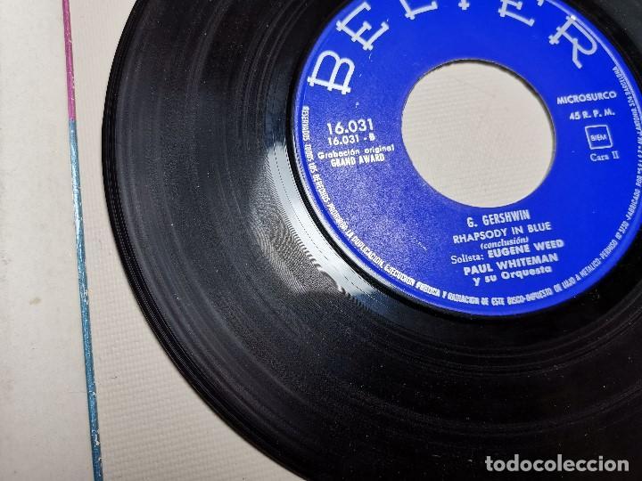 Discos de vinilo: PAUL WHITEMAN RHAPSODY IN BLUE -BELTER 16031 ---1961 - Foto 8 - 197761518