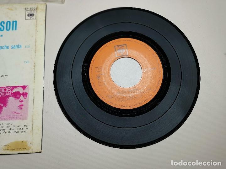 Discos de vinilo: MAHALIA JACKSON - WHITE CHRISTMAS + 3 - EP 5925 CBS 1966 - Foto 9 - 197761900