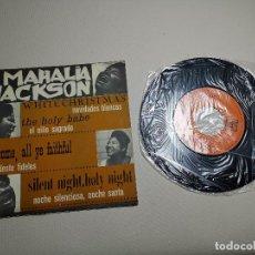 Discos de vinilo: MAHALIA JACKSON - WHITE CHRISTMAS + 3 - EP 5925 CBS 1966. Lote 197761900