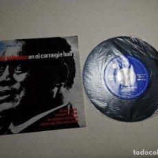 Discos de vinilo: PAUL ROBESON EN EL CARNEGIE HALL EP EDIC ESPAÑA AÑO 1963 EXCELENTE. Lote 197762222
