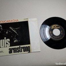 Discos de vinilo: LOUIS ARMSTRONG / LA CUCARACHA / OLD MAN MOSE + 2 (EP 1965). Lote 197762706