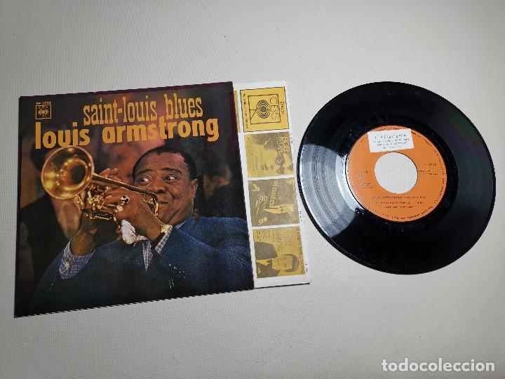 Discos de vinilo: LOUIS ARMSTRONG / LA CUCARACHA / OLD MAN MOSE + 2 (EP 1965) - Foto 3 - 197763876