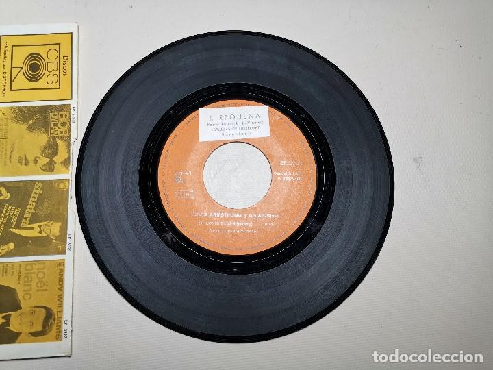 Discos de vinilo: LOUIS ARMSTRONG / LA CUCARACHA / OLD MAN MOSE + 2 (EP 1965) - Foto 5 - 197763876