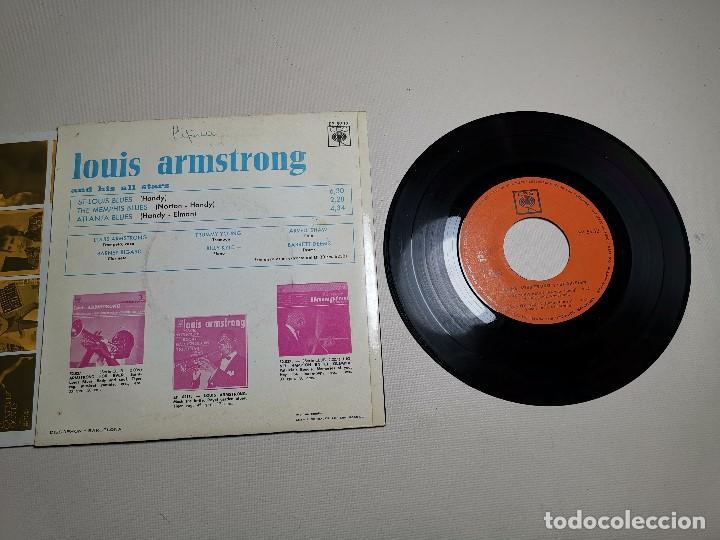 Discos de vinilo: LOUIS ARMSTRONG / LA CUCARACHA / OLD MAN MOSE + 2 (EP 1965) - Foto 6 - 197763876