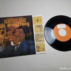 Discos de vinilo: LOUIS ARMSTRONG / LA CUCARACHA / OLD MAN MOSE + 2 (EP 1965). Lote 197763876