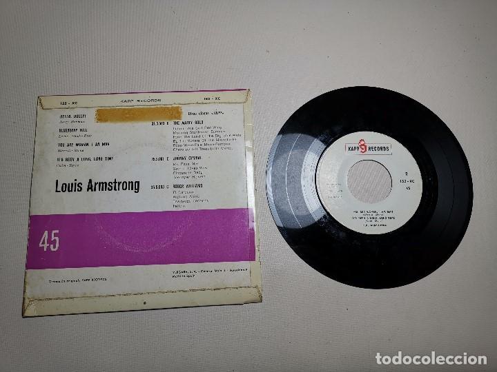 Discos de vinilo: Louis armstrong ep hello,dolly! + 3 España 1964 - Foto 5 - 197764325