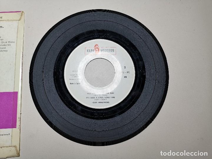Discos de vinilo: Louis armstrong ep hello,dolly! + 3 España 1964 - Foto 7 - 197764325