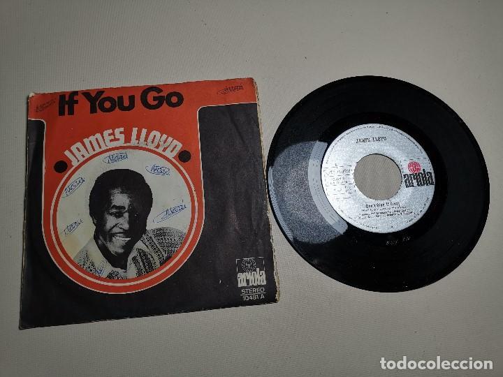 Discos de vinilo: JAMES LLOYD-IF YOU GO + DON´T GIVE IT AWAY SINGLE 1971 SPAIN - Foto 2 - 197765508