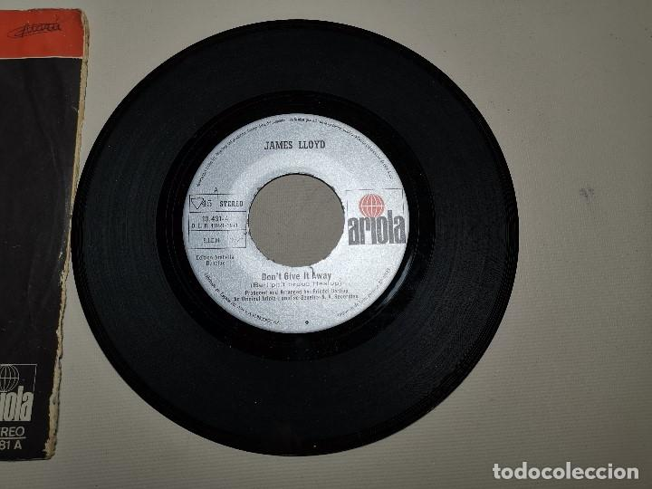 Discos de vinilo: JAMES LLOYD-IF YOU GO + DON´T GIVE IT AWAY SINGLE 1971 SPAIN - Foto 3 - 197765508