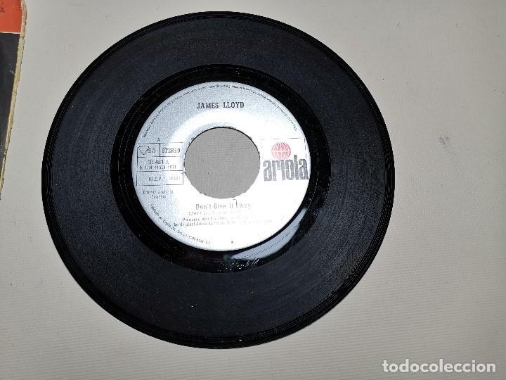 Discos de vinilo: JAMES LLOYD-IF YOU GO + DON´T GIVE IT AWAY SINGLE 1971 SPAIN - Foto 4 - 197765508