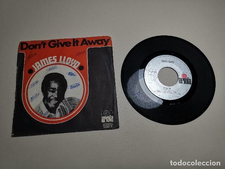 Discos de vinilo: JAMES LLOYD-IF YOU GO + DON´T GIVE IT AWAY SINGLE 1971 SPAIN - Foto 5 - 197765508
