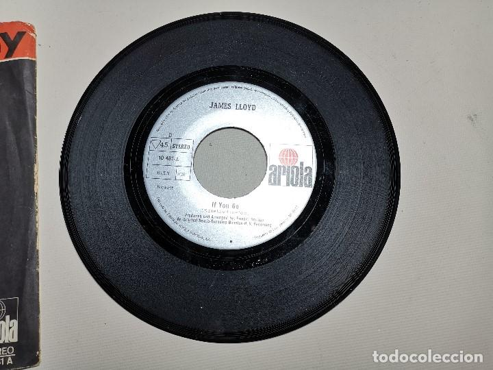 Discos de vinilo: JAMES LLOYD-IF YOU GO + DON´T GIVE IT AWAY SINGLE 1971 SPAIN - Foto 6 - 197765508