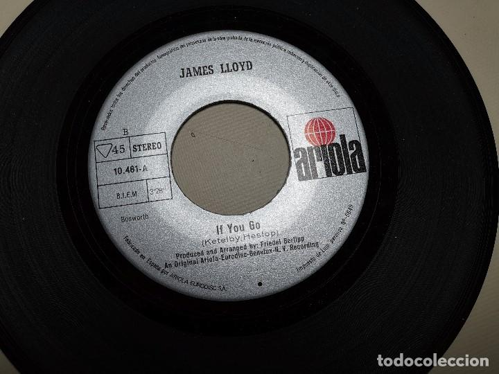 Discos de vinilo: JAMES LLOYD-IF YOU GO + DON´T GIVE IT AWAY SINGLE 1971 SPAIN - Foto 7 - 197765508