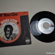 Discos de vinilo: JAMES LLOYD-IF YOU GO + DON´T GIVE IT AWAY SINGLE 1971 SPAIN. Lote 197765508