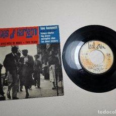 Discos de vinilo: LOU BENNETT ET SON ORCHESTRE AVEC KENNY CLARKE – ECHOES OF HARLEM -FRANCE 1964. Lote 197766107