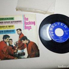 Discos de vinilo: THE ROCKING BOYS - EP 1962 - MULTIPLICACION + CUANDO LLEGUE SEPTIEMBRE + 2. Lote 197768950
