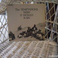 Dischi in vinile: THE TEMPTATIONS – WISH IT WOULD RAIN.LP ORIGINAL USA 1968.GORDY – GLPS-927 . Lote 197769918