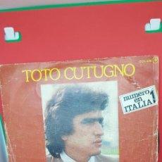 Discos de vinilo: TOTO CUTUGNO. 'SOLOS' 1979. Lote 197778841