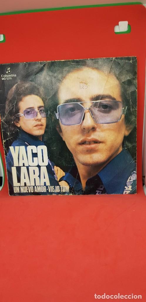 YACO LARA 'UN NUEVO AMOR' 1972 XIV FESTIVAL ESPAÑOL BENIDORM SINGLE (Música - Discos - Singles Vinilo - Otros Festivales de la Canción)