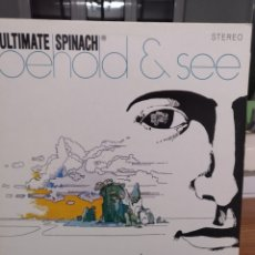 Discos de vinilo: ULTIMATE SPINACH, BEHOLD & SEE. Lote 197785922