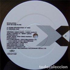 Discos de vinilo: REVELATION_–JUST BE DUB TO ME. Lote 197787128